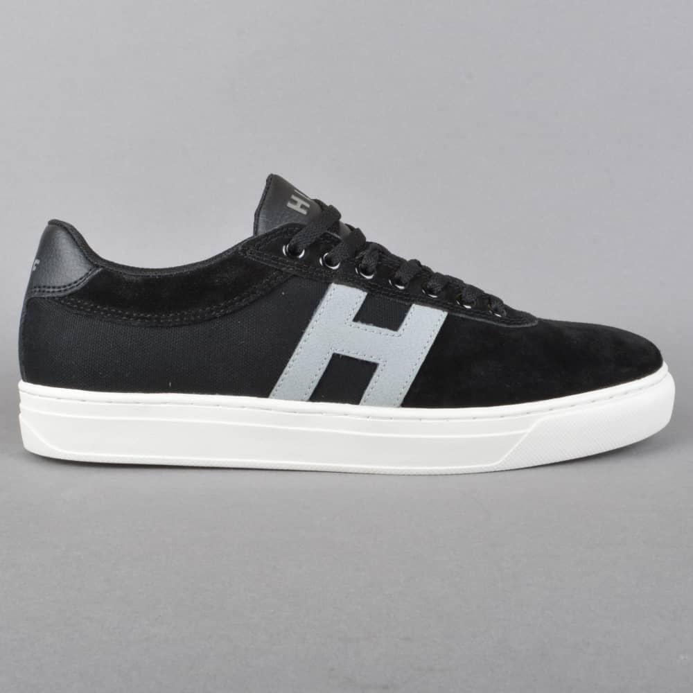 b3922bb8d9d HUF Soto Skate Shoes - Black Grey - SKATE SHOES from Native Skate ...