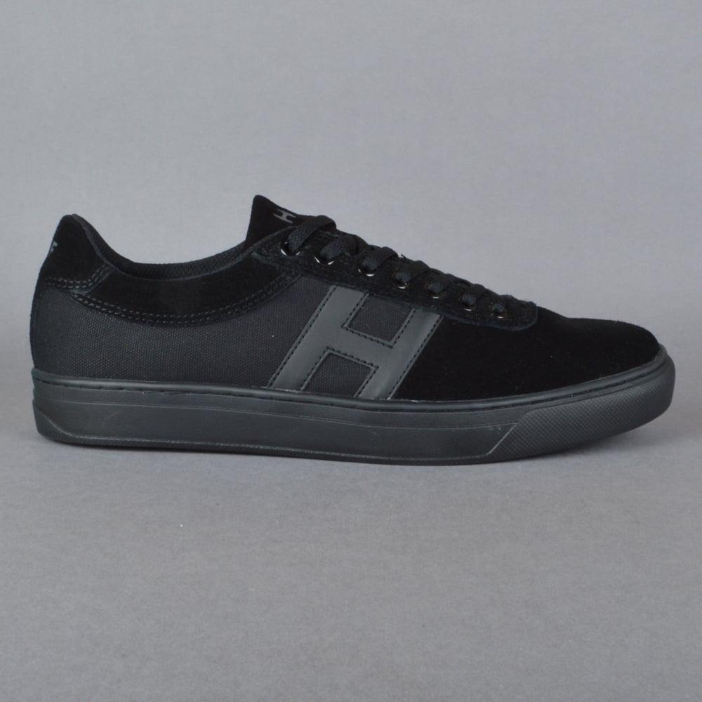 Soto Skate Shoes - Black Mono