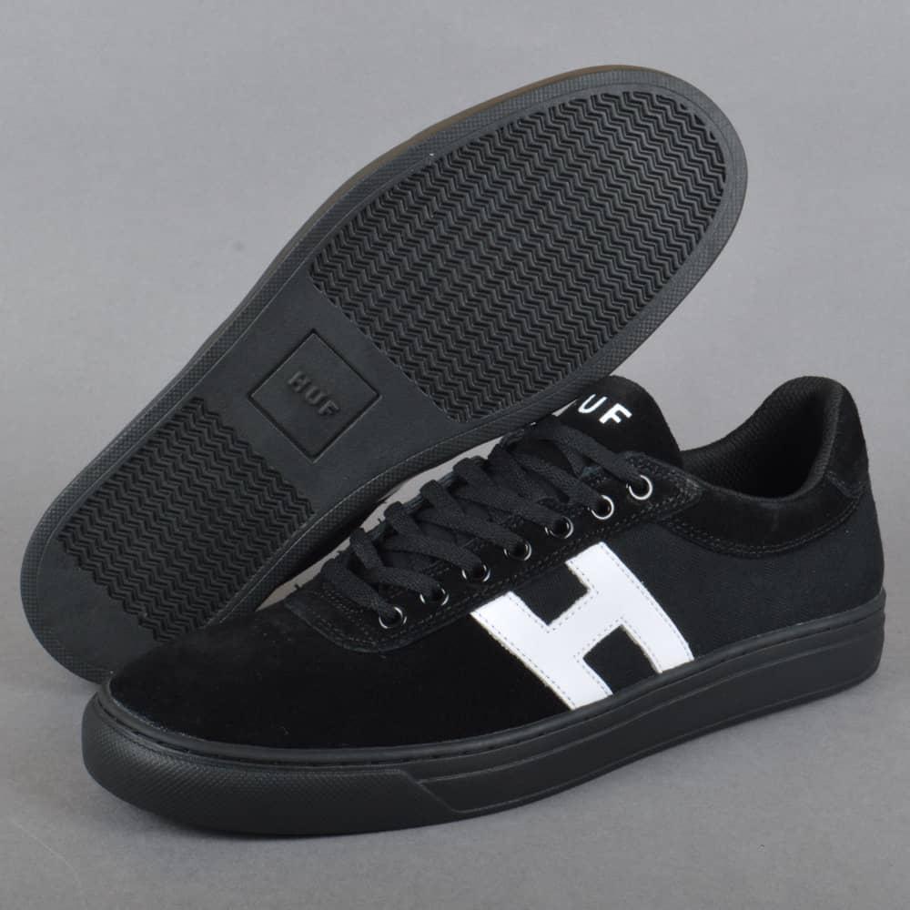 6a5a7e0dbc5 HUF Soto Skate Shoes - Black White - SKATE SHOES from Native Skate ...