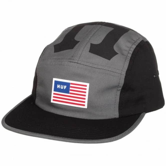 b0de5177c90eb HUF Huf Sport Volley 5 Panel Cap - Black - Caps from Native Skate ...