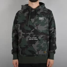 HUF Standard Issue Pullover Hoodie - Woodland Camo