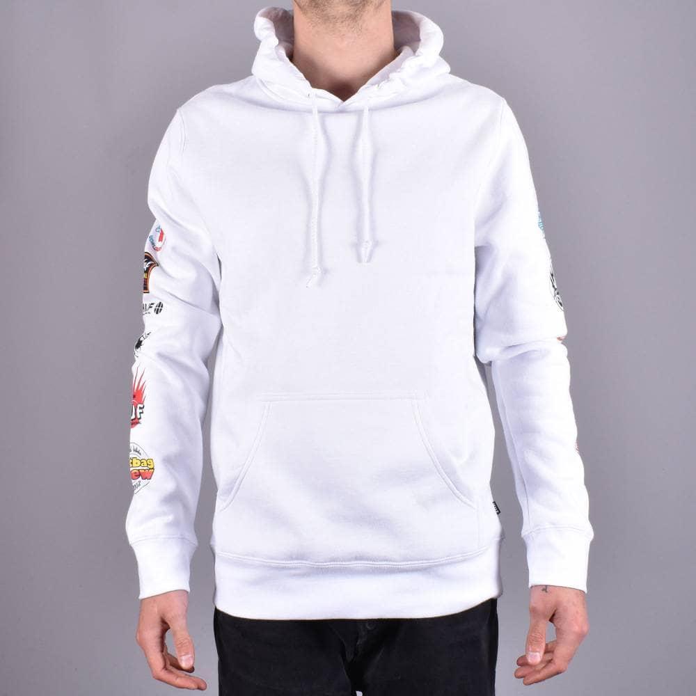 wähle authentisch Dauerhafter Service ganz nett HUF Sticker Wars Pullover Hoodie - White