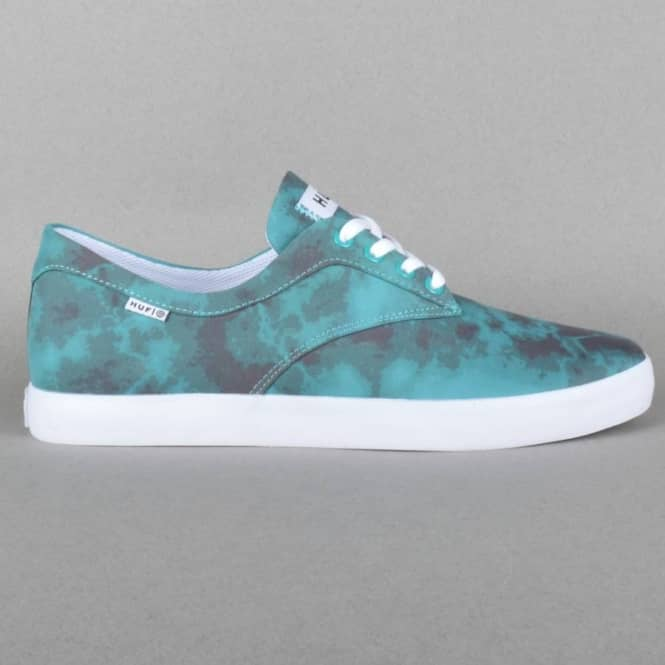 HUF Sutter Skate Shoes - Jade Crystal Wash