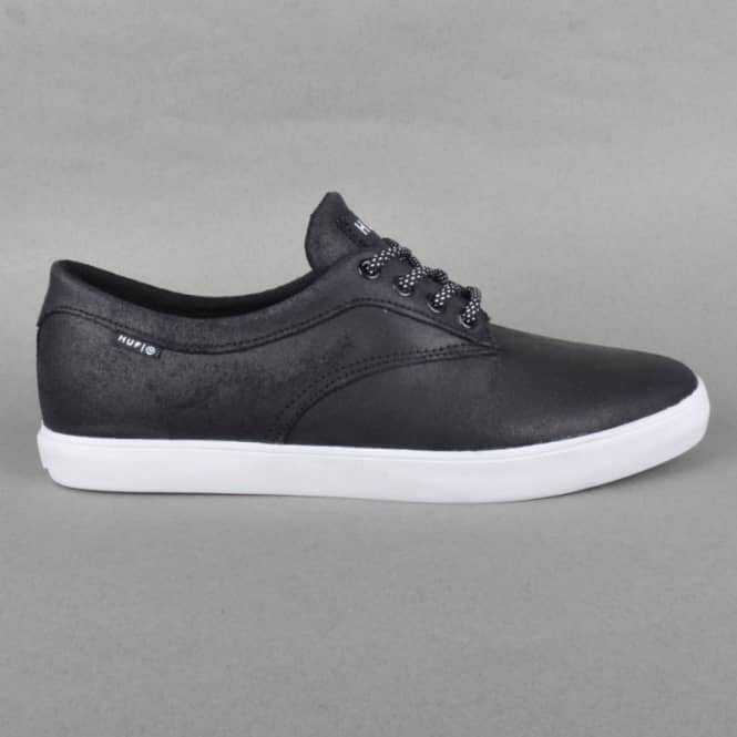 HUF Sutter Skate Shoes - Oiled Black