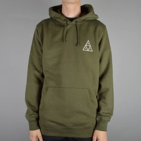 Pullover Hoodie - Olive Green.   View All Huf;