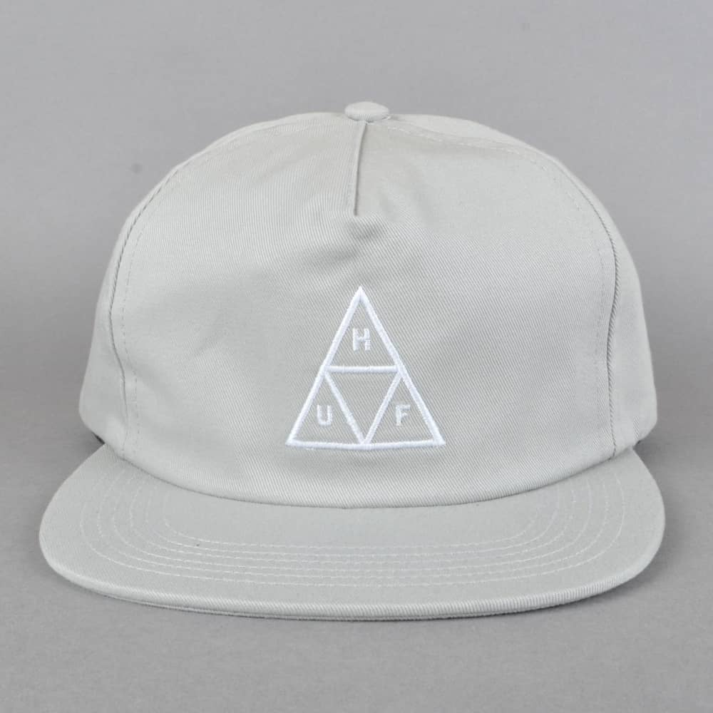 fd10dcdbc6b HUF Triple Triangle Snapback Cap - Cloud - SKATE CLOTHING from ...