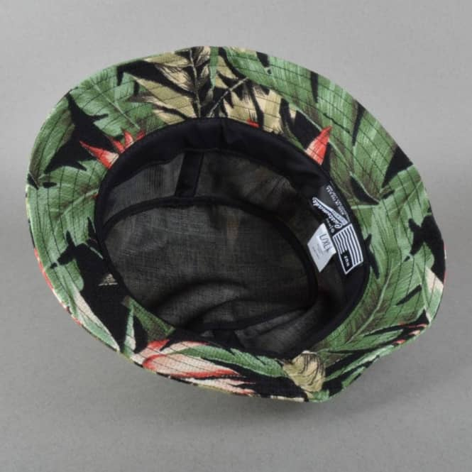 b7cefcbfc0f HUF Waikiki Bucket Hat - Black - Bucket Hats from Native Skate Store UK