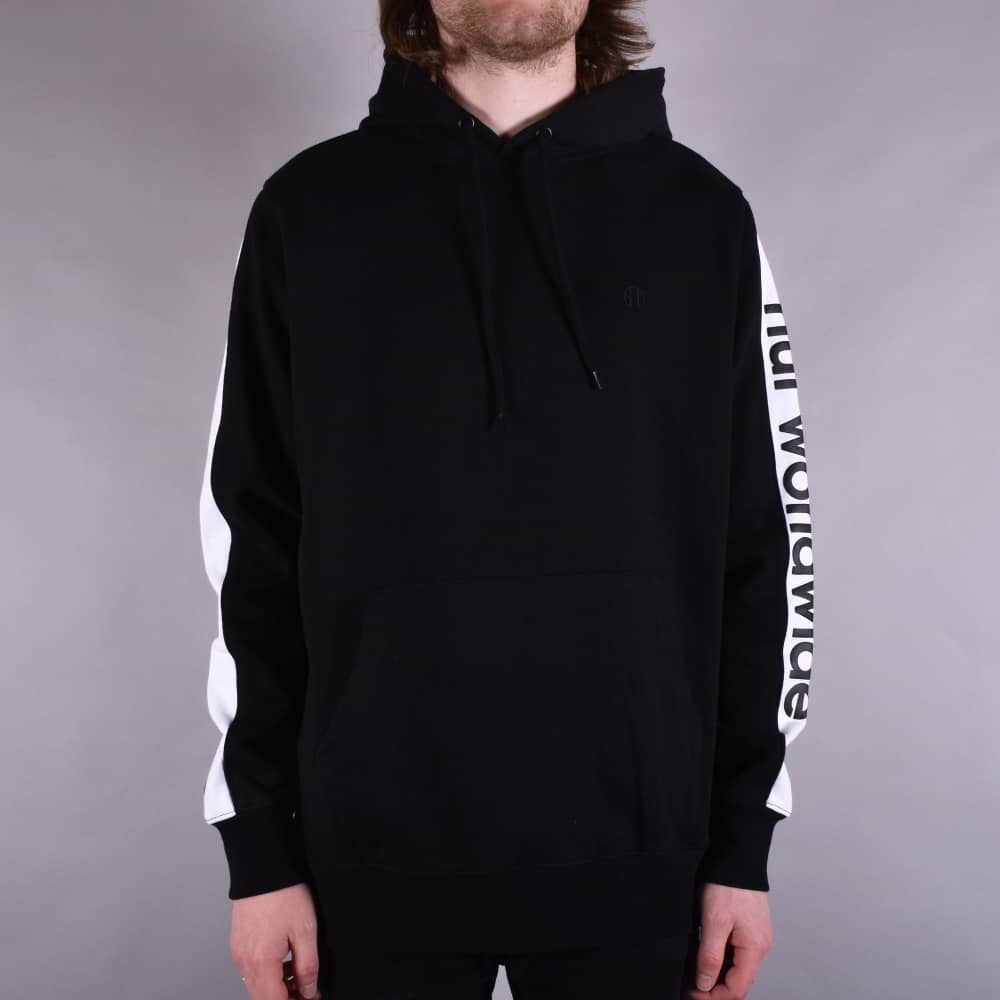 731b1c5f2 HUF Worldwide Pullover Hoodie - Black - SKATE CLOTHING from Native ...