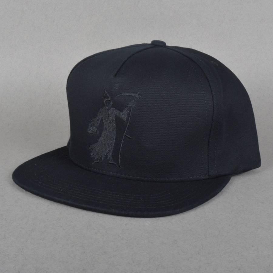 Huf X Black Scale Reaper Snapback Cap Black Huf From