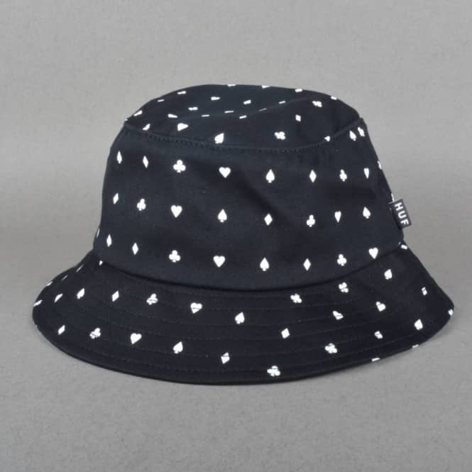 d12d8d16dce809 HUF X Black Scale Suits Bucket Hat - Black - Bucket Hats from Native ...