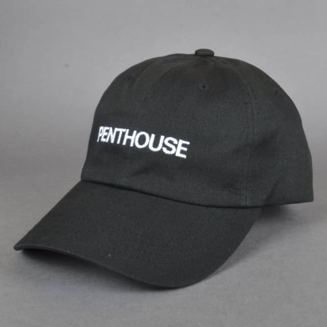 HUF x Penthouse Curved Brim Dad Cap - Black