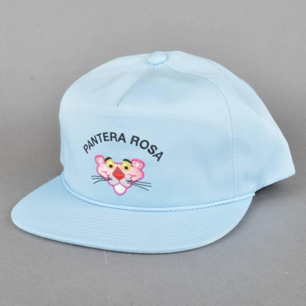 HUF x Pink Panther Pantera Rosa Snapback Cap - Light Blue - SKATE ... 0e02839b691