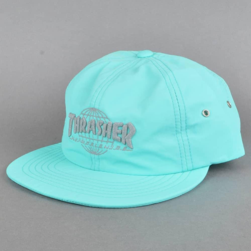 7f30dc2aa4d HUF x Thrasher TDS 6 Panel Strapback Cap - Mint - SKATE CLOTHING ...