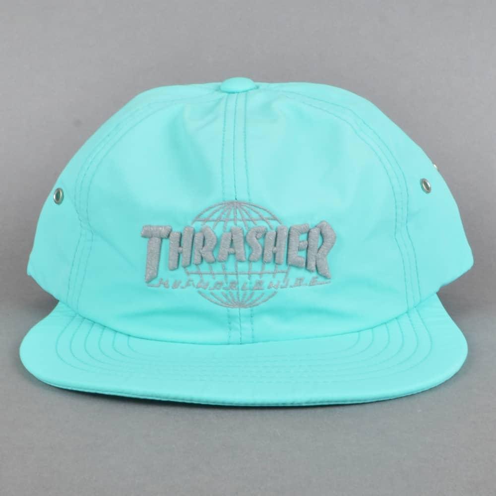 f0037c53261 HUF x Thrasher TDS 6 Panel Strapback Cap - Mint - SKATE CLOTHING ...