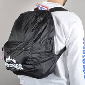 HUF X Thrasher TDS Packable Backpack - Black