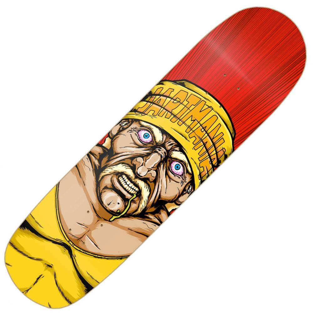 Jart Skateboards Hulk Hogan (Pool Before Death Shape) Skateboard Deck 8.5''