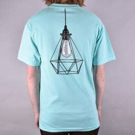 Illuminated Skate T-Shirt - Celadon