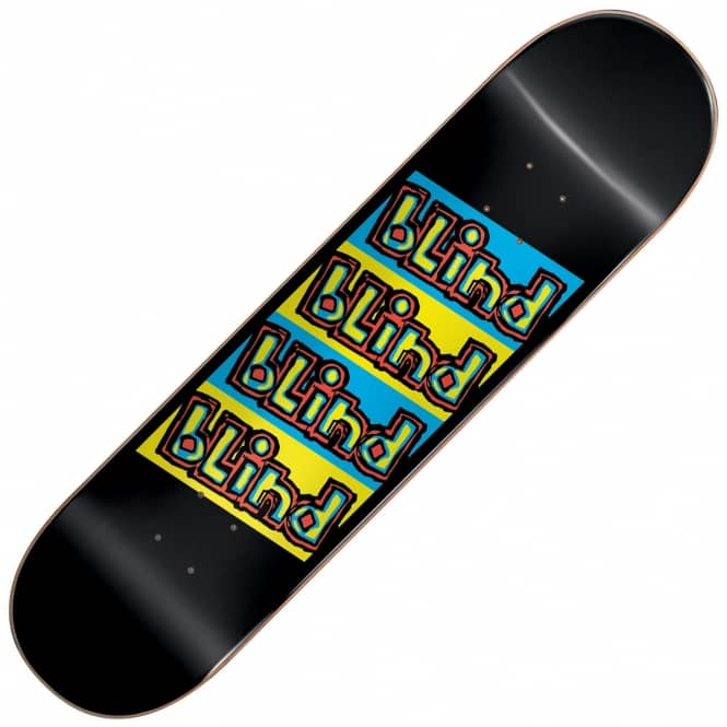 Blind Skateboards Incline Black Skateboard Deck 7.75
