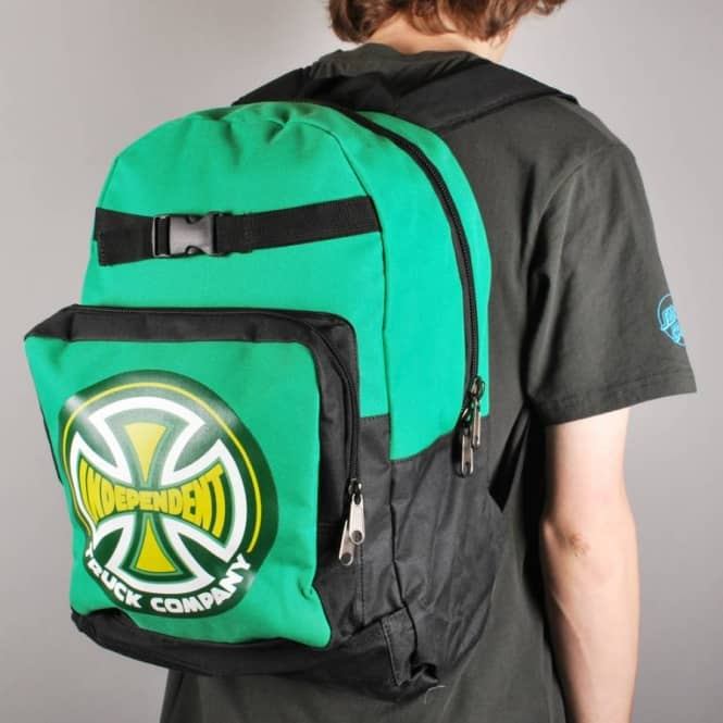 Independent Trucks Independent 78 Truck Co Skate Backpack Kelly Green