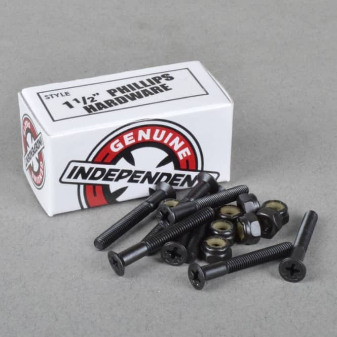 Independent Trucks Independent Phillips Hardware Skateboard Truck Bolts 1 1/2