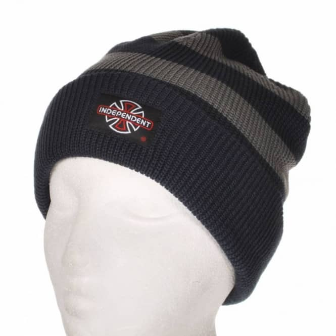 f450f067349 Independent Trucks Independent Pier Stripe Skate Beanie Charcoal ...