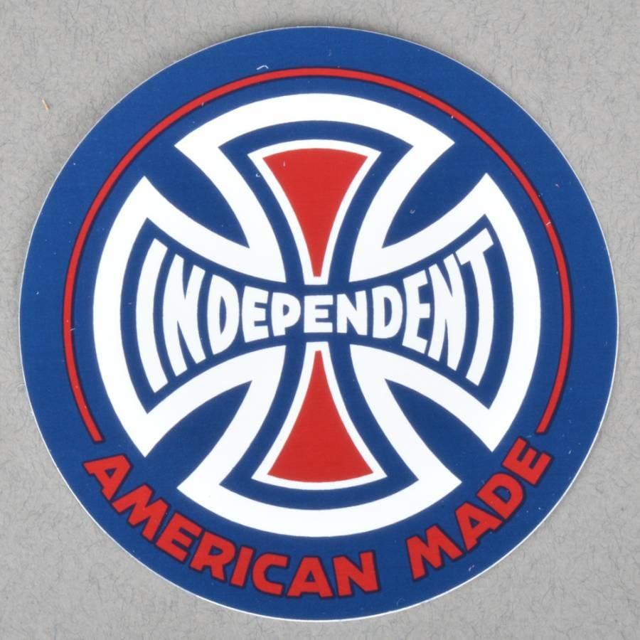 Independent Trucks AMI Logo Skateboard Sticker - Assorted ...