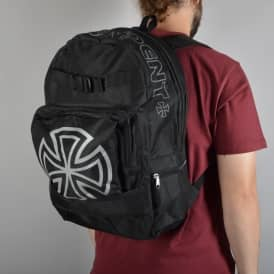 Independent Trucks Bar Cross Skate Backpack - Black