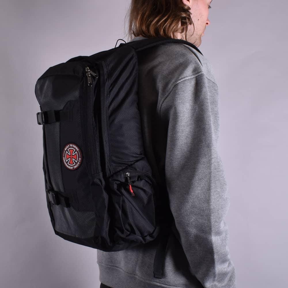 4cd2365985e Independent Trucks BTG Skatepack Skateboard Backpack - Black ...