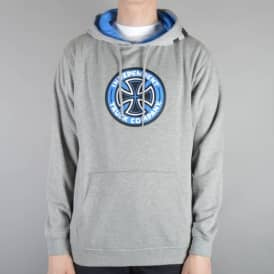 Coloured TC Pullover Hoodie - Heather Grey