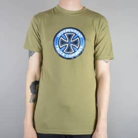 Independent Trucks Coloured TC Skate T-Shirt - Herb Heather
