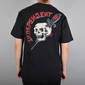 Independent Trucks Dressen Skull Skate T-Shirt - Black