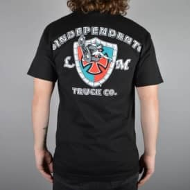 Independent Trucks Mountain Shield Skate T-Shirt - Black