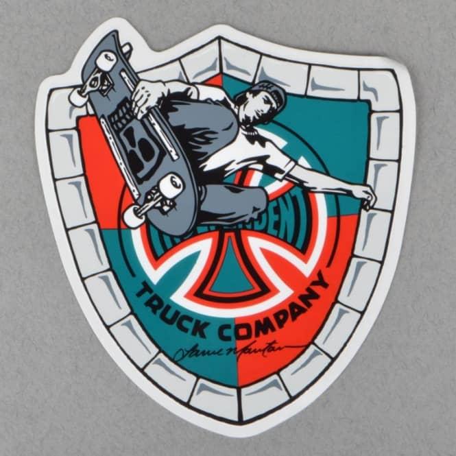 Independent Trucks Mountain Shield Skateboard Sticker ...