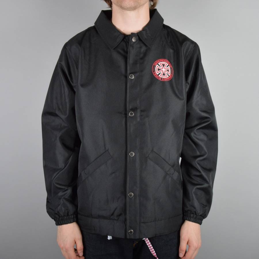 Independent trucks ogtc coach jacket black independent for Coach jacket