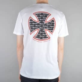 Independent Trucks Rick Blackhart Cross Ltd Skate T-Shirt - White