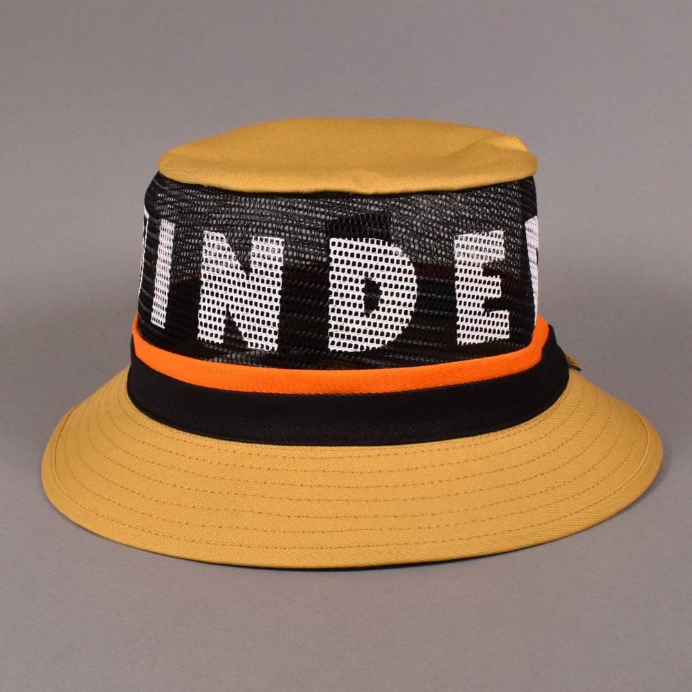 8cd6801033e2e6 Independent Trucks x Independent F/U Hardy Bucket Hat - Yellow ...