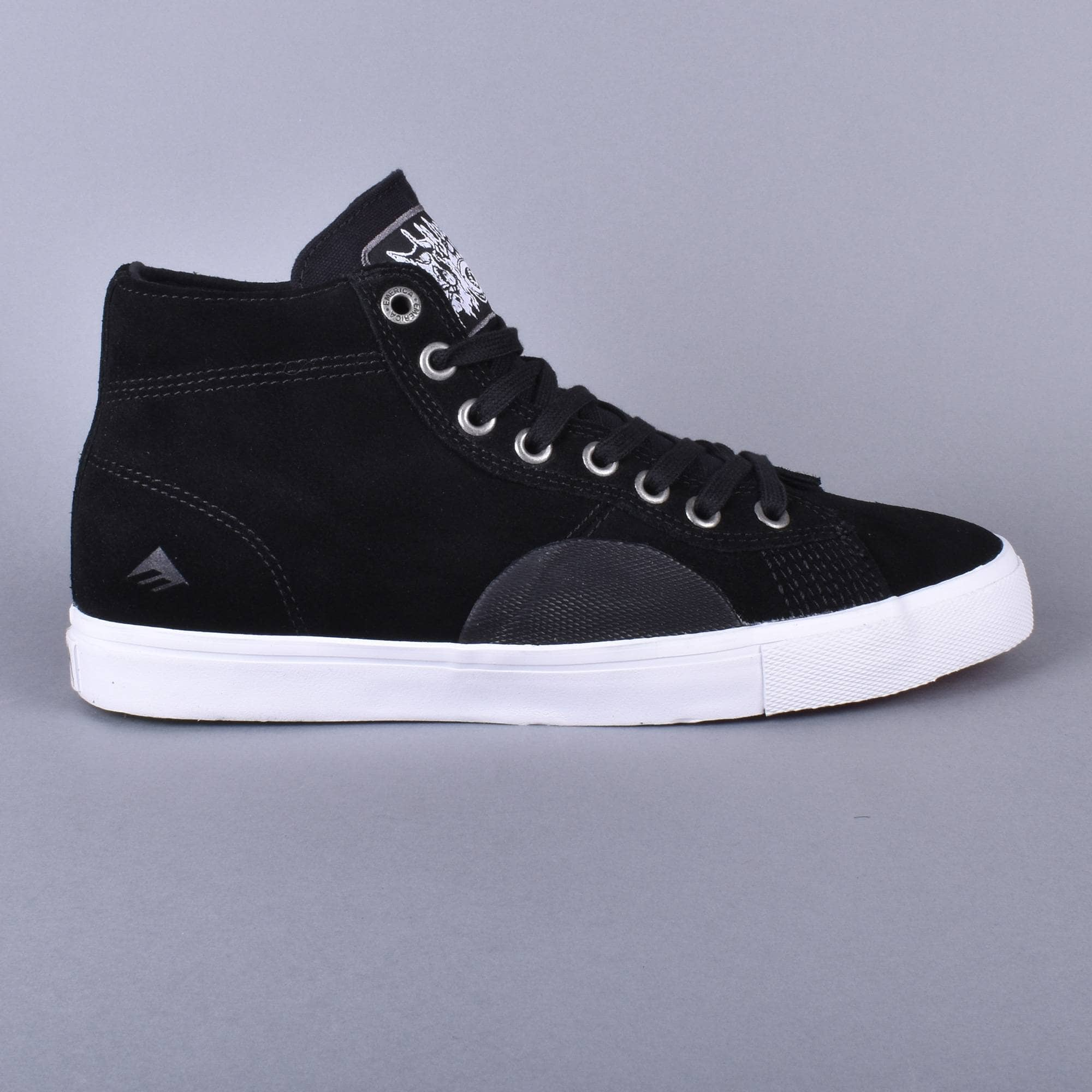 Funeral French Skate Shoes - Black