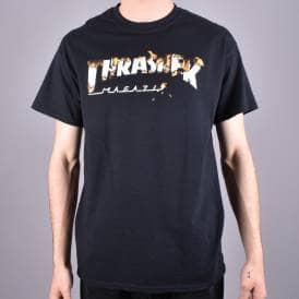 09d40caef99b Intro Burner Skate T-Shirt - Black