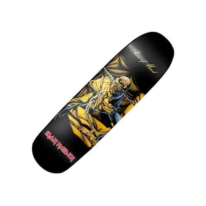 Iron Maiden Piece OF Mind Skateboard Deck 8.625