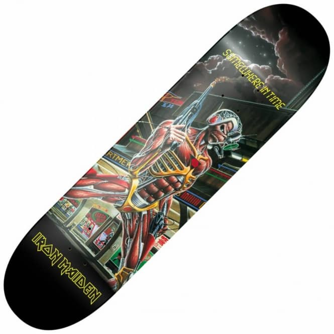 Iron Maiden Somewhere In Time Skateboard Deck 8.0