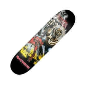 Iron Maiden The Number Of The Beast Skateboard Deck 8.1""
