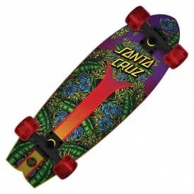 Island Sunset Land Shark Cruiser Skateboard 8.8""