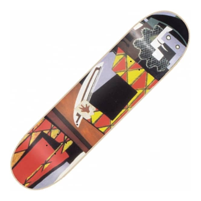 Isle Skateboards Paul Shier Three Musicians Skateboard Deck 8.375