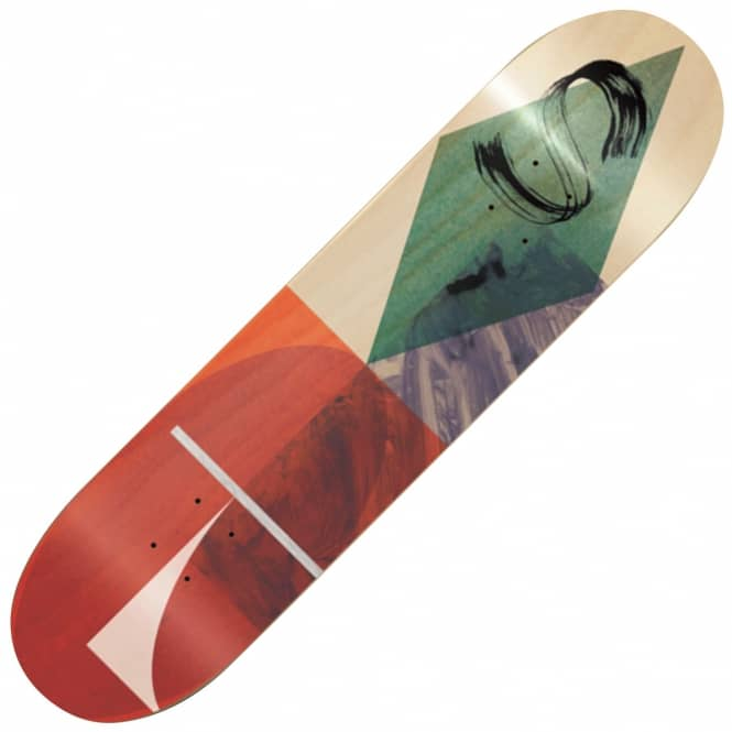 Isle Skateboards Sylvain Tognelli Brush Stroke Series Skateboard Deck 8.125