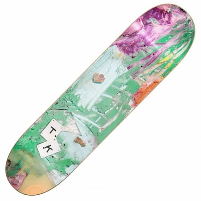 Isle skateboards tom knox paint pigment skateboard deck for Best paint for skateboard decks