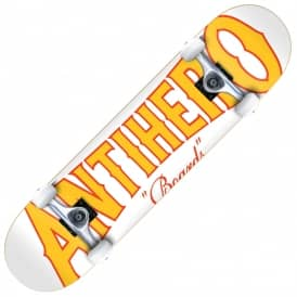 It's The Wood Large White Complete Skateboard 8.0