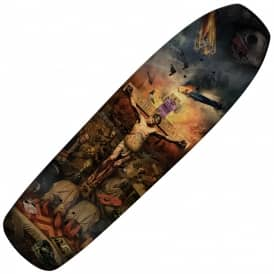 Jeff Grosso Crucifried (Custom Shape) Skateboard Deck 9.25