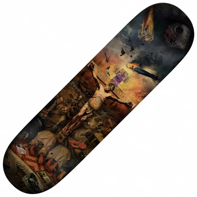 Antihero Skateboards Jeff Grosso Crucifried (Popsicle) Skateboard Deck 8.75