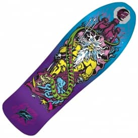 Jessee Neptune 1 Candy Metallic Purple Fade Reissue Skateboard Deck - 10.14