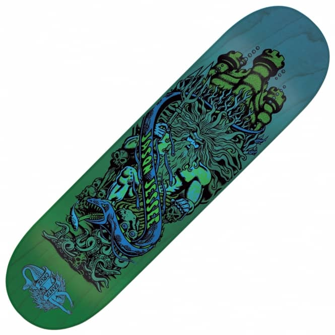 Santa Cruz Skateboards Jessee Neptune Pop Skateboard Deck 8.0